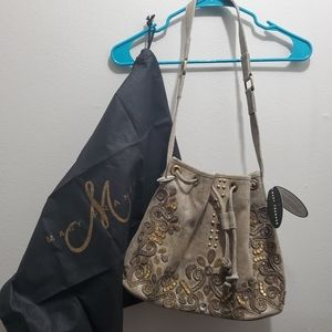 New Mary Frances bucket bag